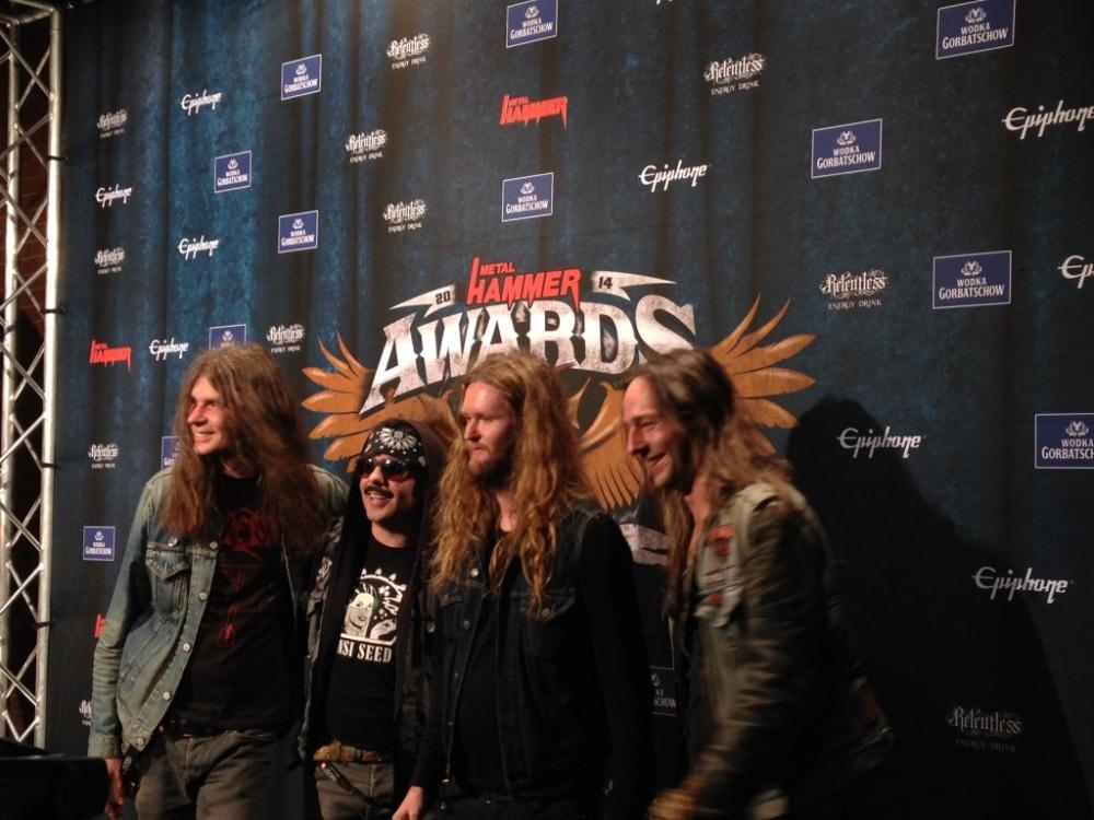 METAL HAMMER Awards: Blind Guardian + Paradise Lost + DeadLock + Reactory @ Kesselhaus, Berlin (3/6)