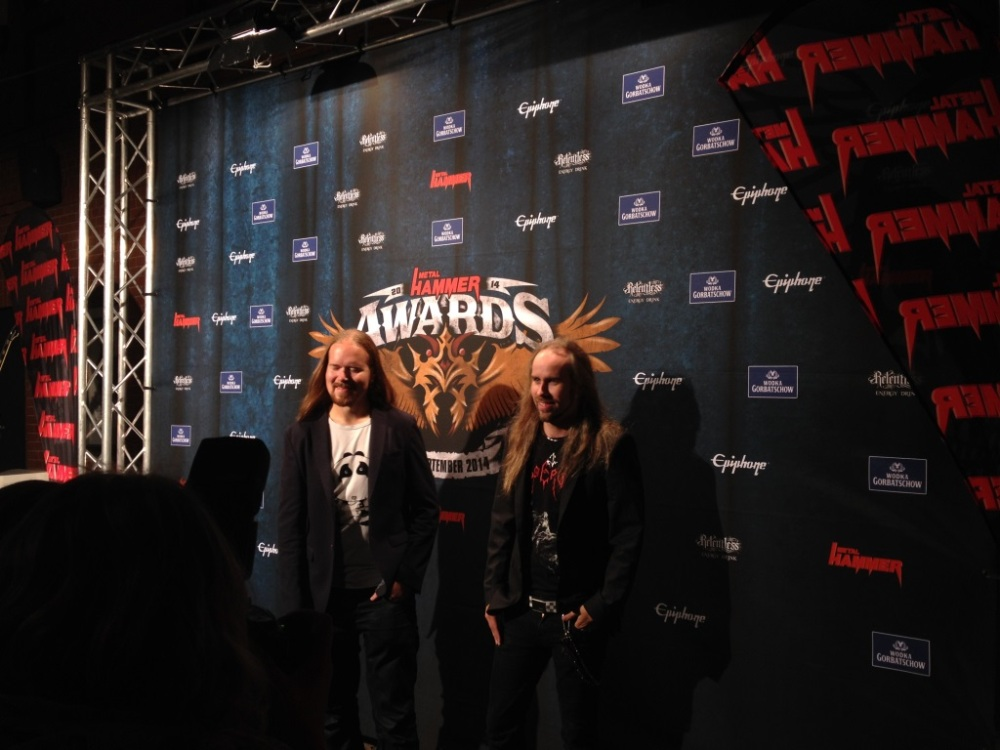 METAL HAMMER Awards: Blind Guardian + Paradise Lost + DeadLock + Reactory @ Kesselhaus, Berlin (5/6)