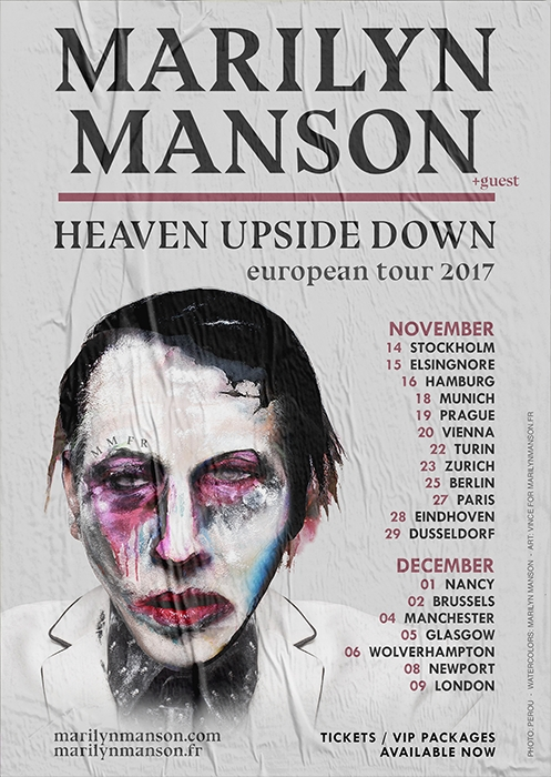 Marilyn Manson tour berlin europe 2017